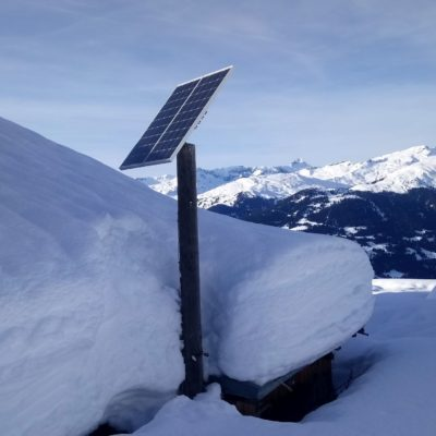 Photovoltaik (PV) Inselanlage Alp da Sevgein
