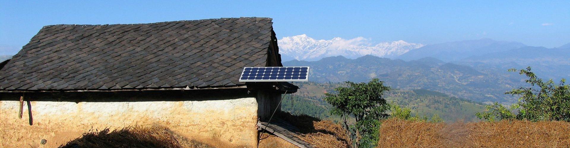 Photovoltaik (PV) Inselanlage in Nepal