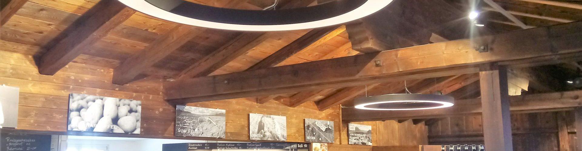 Energieeffizienz Bergrestaurant Curnius